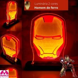 Luminária Homem de Ferro