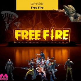 Luminária Free Fire