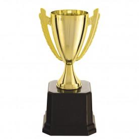 Taça Dourada em plástico 22cm