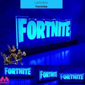 Luminária Fortnite