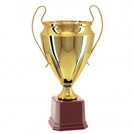 Taça Metal Dourada 48cm