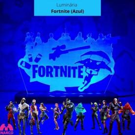 Luminária Fortnite (azul)