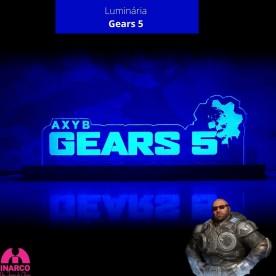Luminária Gears 5