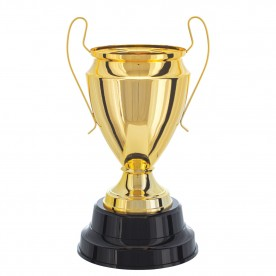 Taça Metal Dourada 40cm