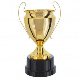 Taça Metal Dourada 58cm