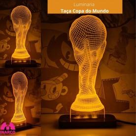 Luminária Taça Copa do Mundo