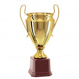 Taça Metal Dourada 42cm