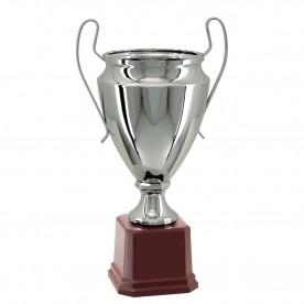 Taça Metal Prata 42cm