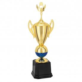 Troféu Dourado Azul 81cm