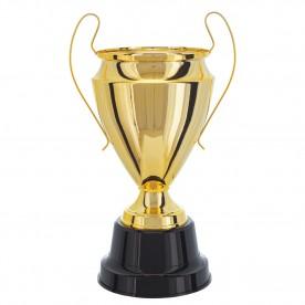 Taça Metal Dourada 47cm