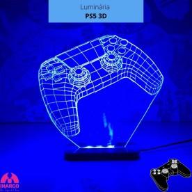 Luminária PS5 3D