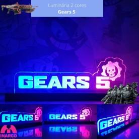 Luminária Gears 5 2 cores