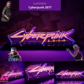 Luminária Cyberpunk